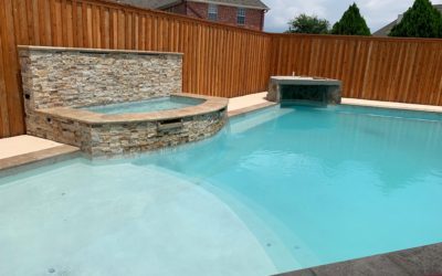 Huge Free Form Pool: Plaster Installation & Project Completion